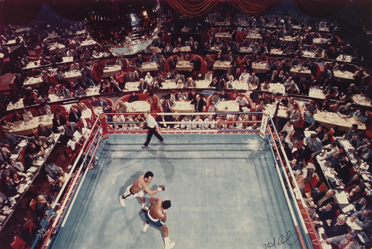 NEIL LEIFER (1942- ) Muhammed Ali vs. Bob Foster.