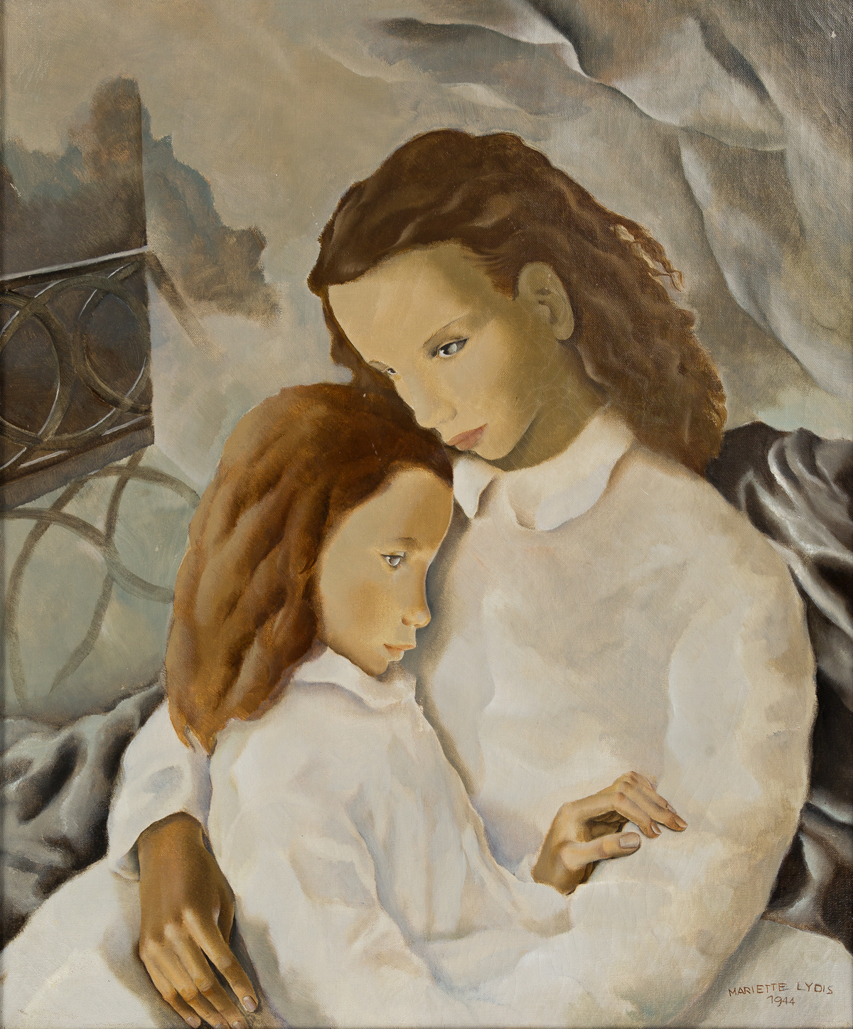 MARIETTE-LYDIS-(1887-1970)-Mother-and-Child