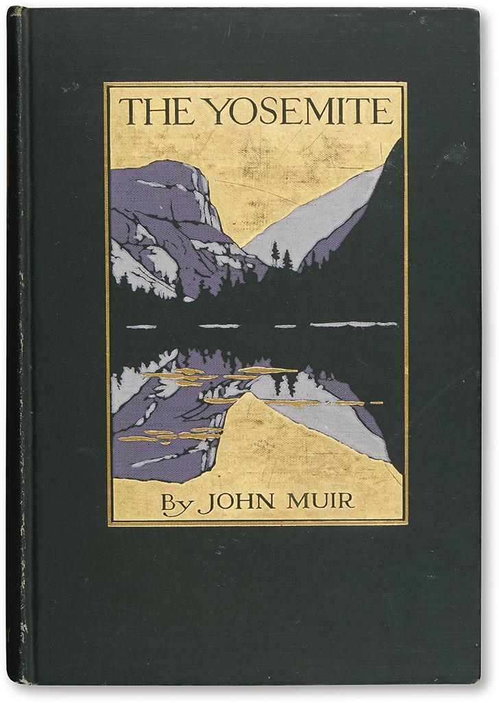 MUIR, JOHN. Group of 14 works by Muir.