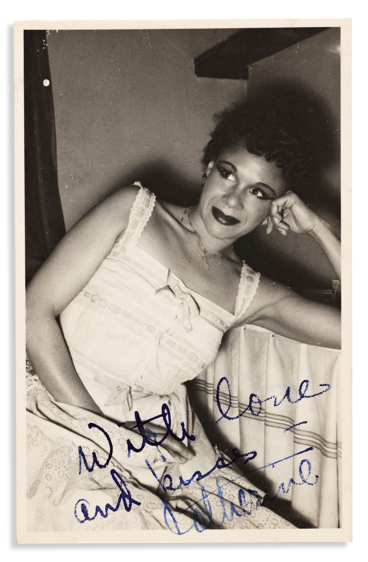 (ENTERTAINMENT--DANCE.) Diary, photographs, and correspondence of modern dance legend Katherine Dunham.