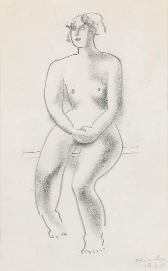 ISAMU-NOGUCHI-Seated-Nude