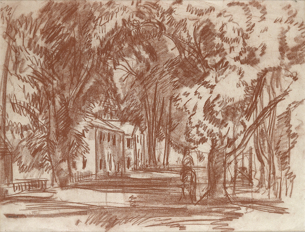 GIFFORD-BEAL-Tree-Lined-Street