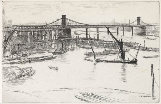 JAMES-A-M-WHISTLER-Old-Hungerford-Bridge
