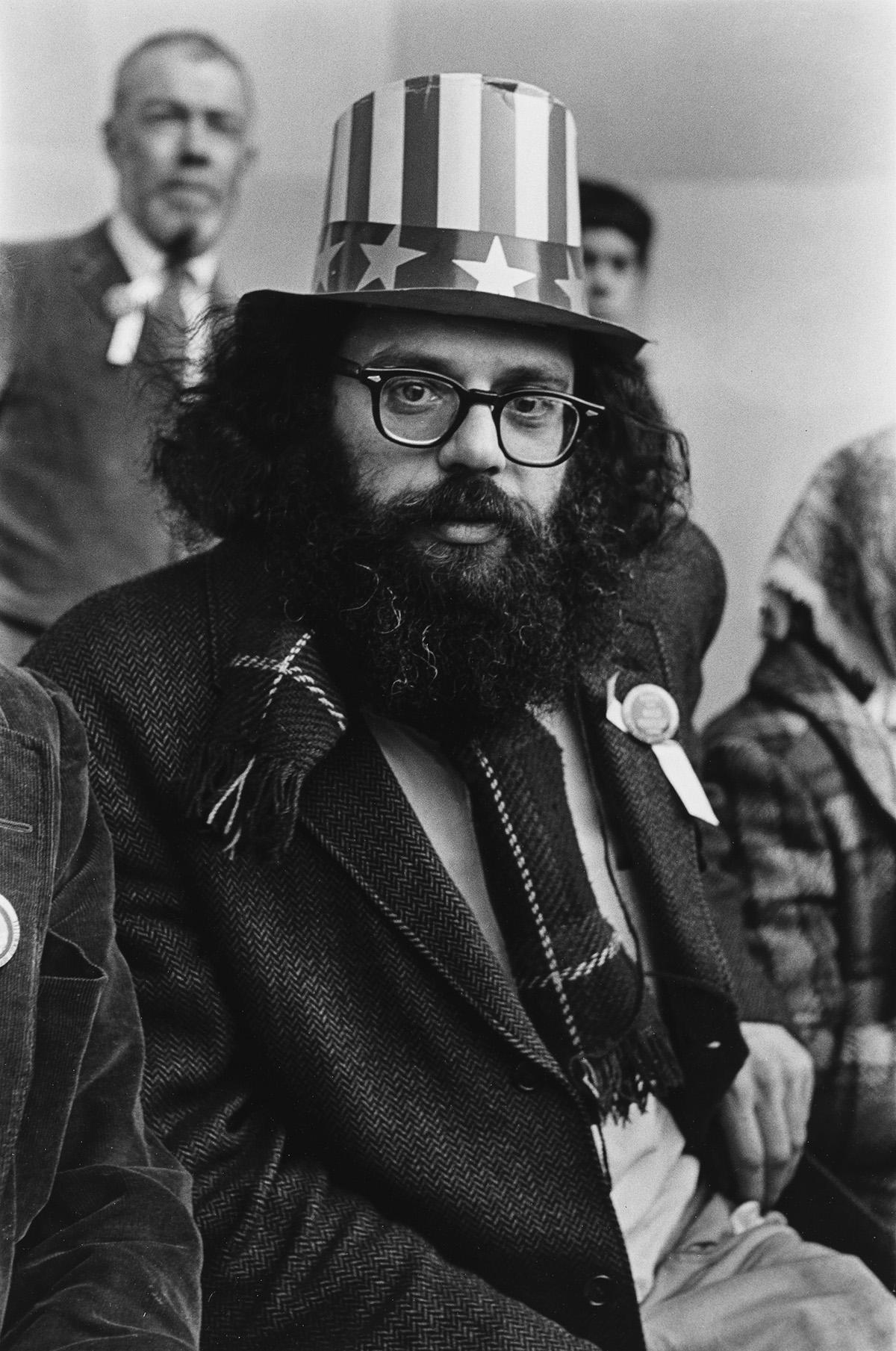 FRED-W-MCDARRAH-(1926-2007)-Allen-Ginsberg-in-Central-Park-B