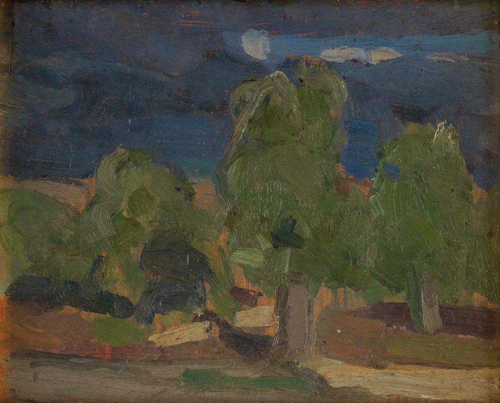 HENRY-OSSAWA-TANNER-(1859---1937)-Countryside-Around-Nice-Fr