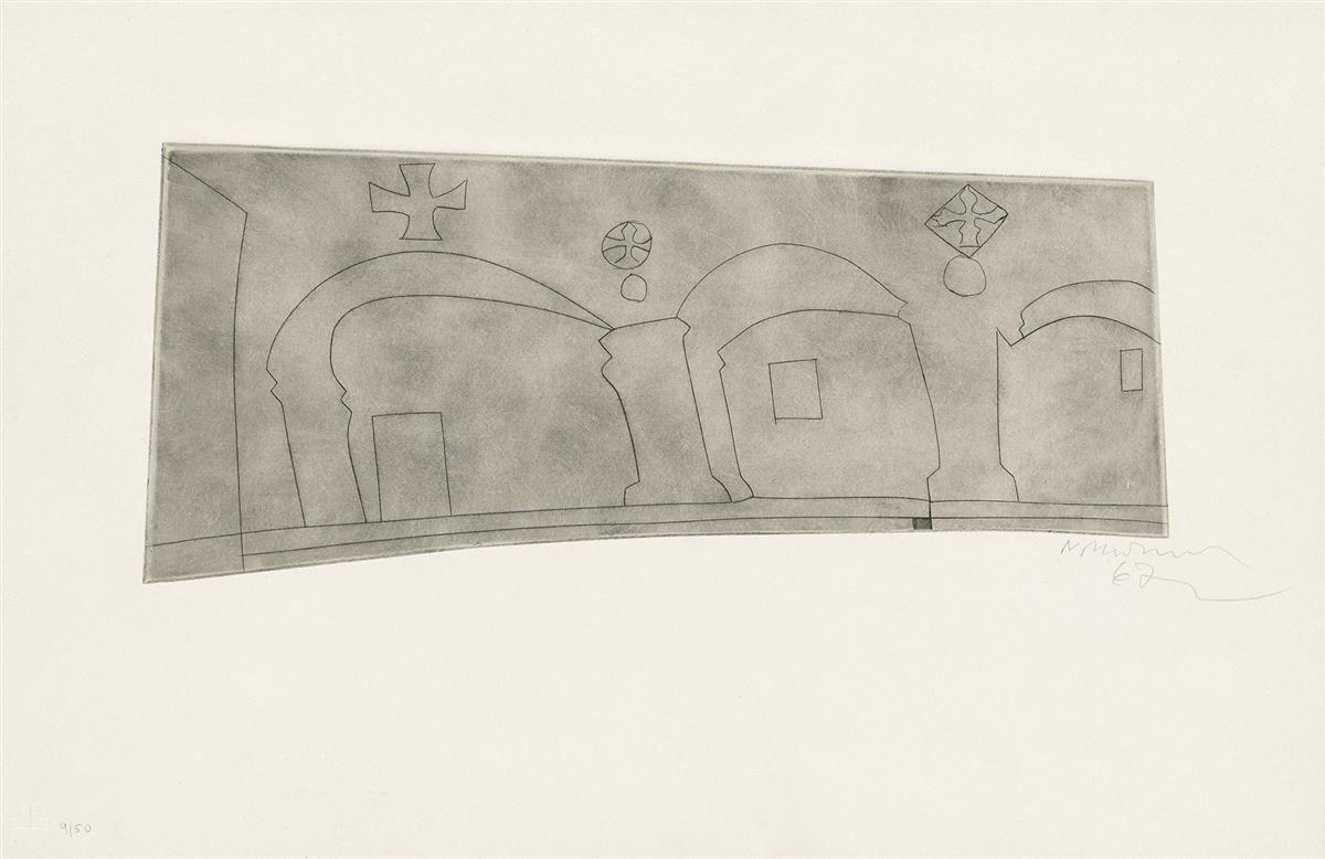 BEN-NICHOLSON-Long-Horizontal-Patmos