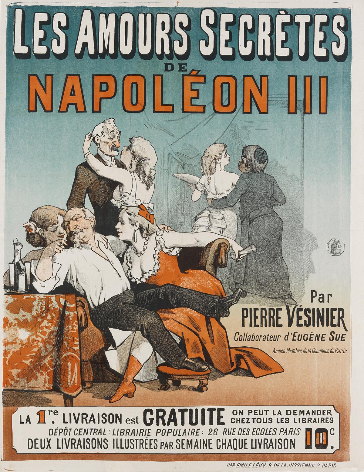 DESIGNER-UNKNOWN-LES-AMOURS-SECRÈTES-DE-NAPOLÉON-III-Circa-1
