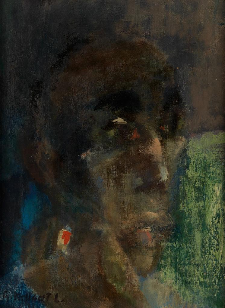 GWENDOLYN KNIGHT LAWRENCE (1913 - 2005) Head of Dancer.