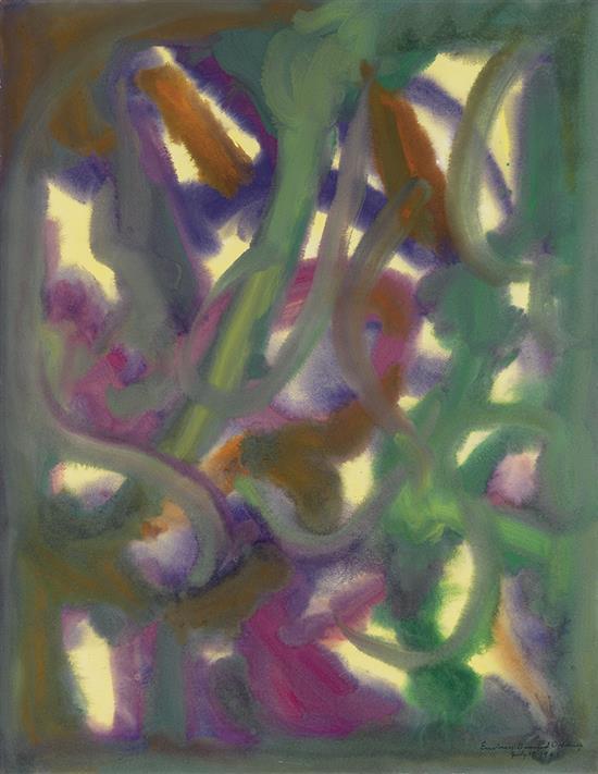 BEAUFORD DELANEY (1901 - 1979) Embrun.