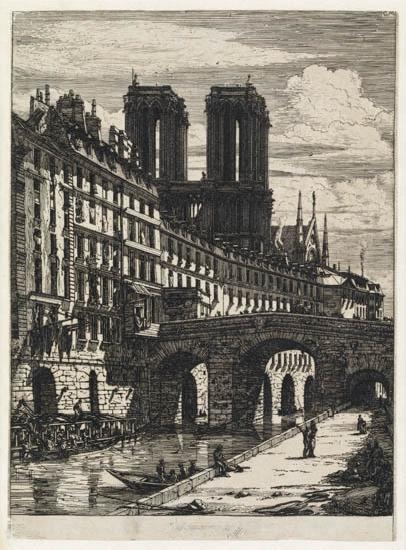 CHARLES-MERYON-Le-Petit-Pont