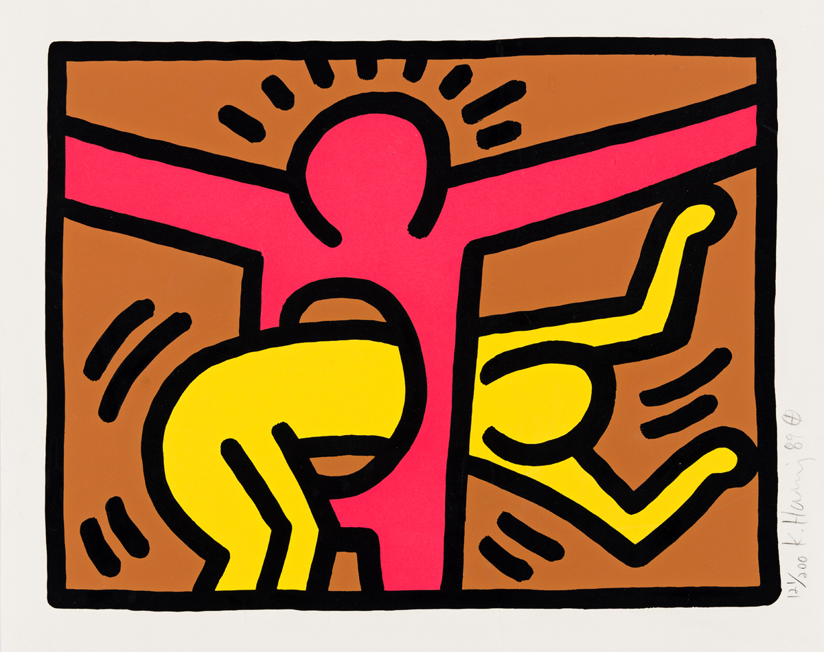 KEITH HARING Pop Shop IV.