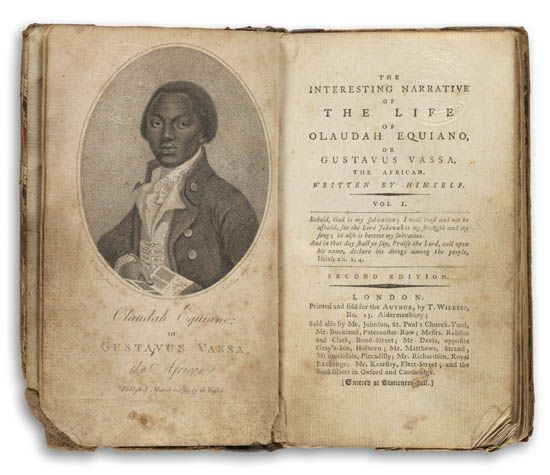 (SLAVERY AND ABOLITION.) EQUIANO, OLAUDAH. The Interesting Narrative of the Life of Olaudah Equiano or Gustavus Vassa, Written by Himse