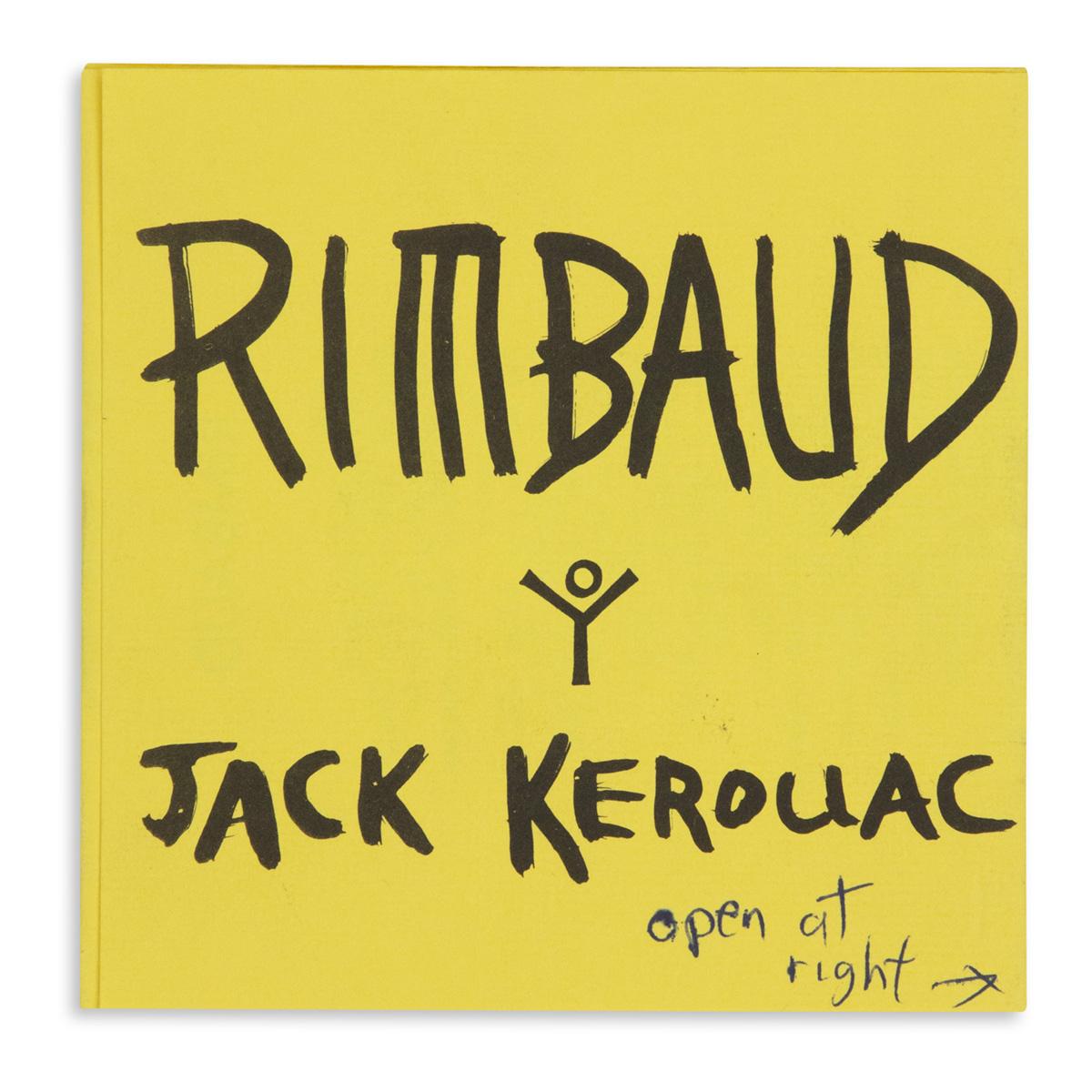 KEROUAC, JACK. Rimbaud (Publishers Archive.)