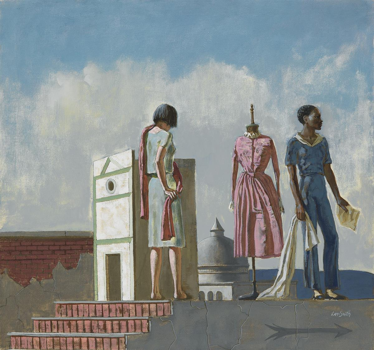 HUGHIE LEE-SMITH (1915 - 1999) End of Act One.