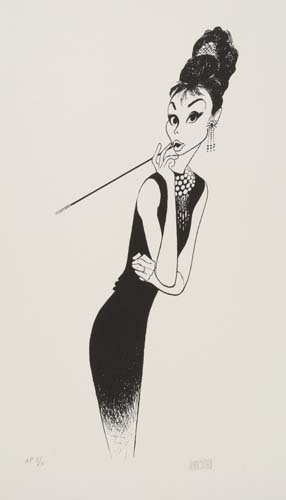 Breakfast at Tiffanys, II: featuring Audrey Hepburn.