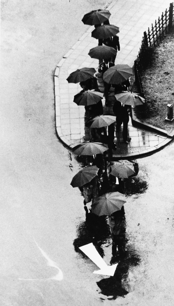 ANDRÉ KERTÉSZ (1894-1985) Rainy Day, Tokyo.