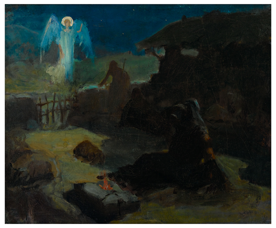 HENRY-OSSAWA-TANNER-(1859---1937)-The-Annunciation-to-the-Sh