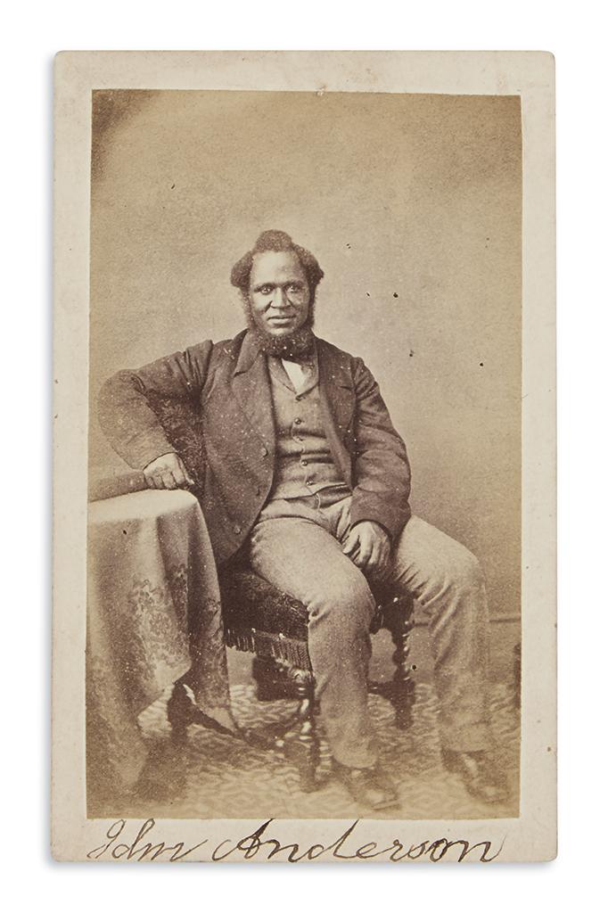 (SLAVERY-AND-ABOLITION)-Signed-carte-de-visite-portrait-of-e