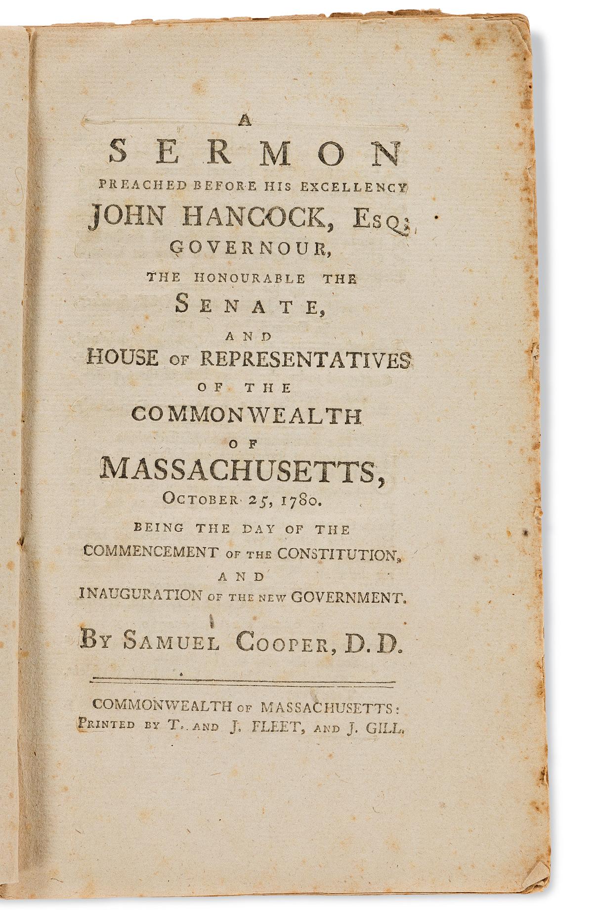 (AMERICAN-REVOLUTION--1780)-Samuel-Cooper-A-Sermon-Preached-