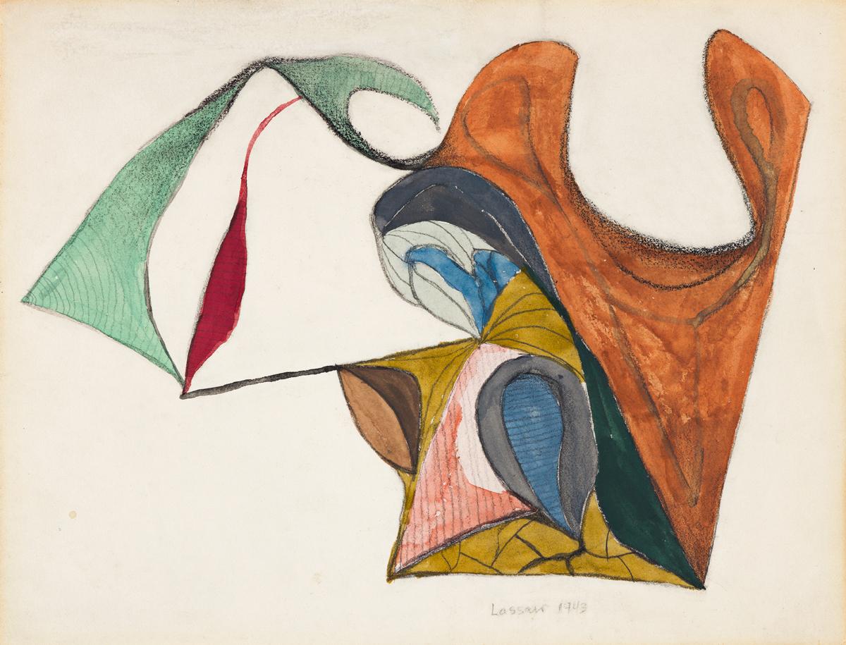 IBRAM LASSAW, (1913 - 2003, AMERICAN) Untitled.