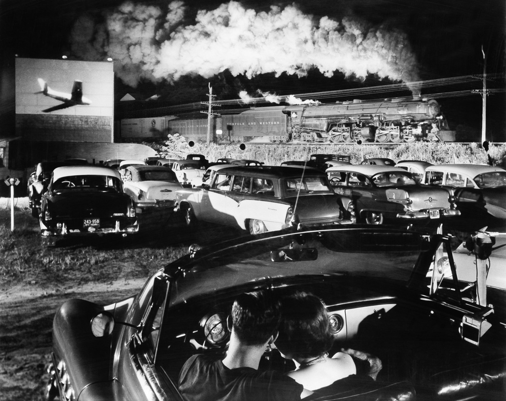 O. WINSTON LINK (1914-2001) Hotshot Eastbound, Iaeger, West Virginia.