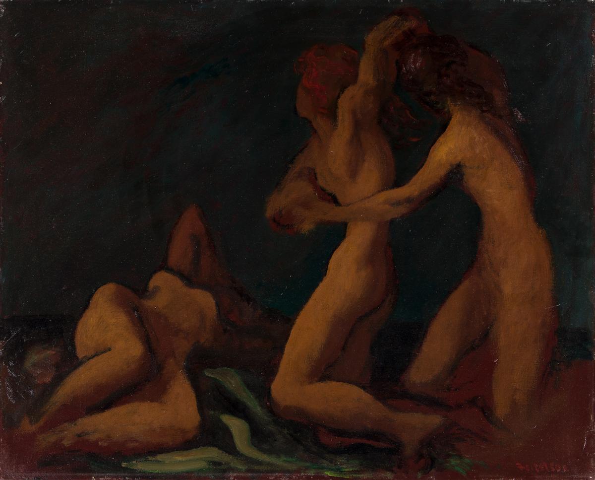 LORSER FEITELSON (1898 - 1978, AMERICAN) Sketch of Nudes.