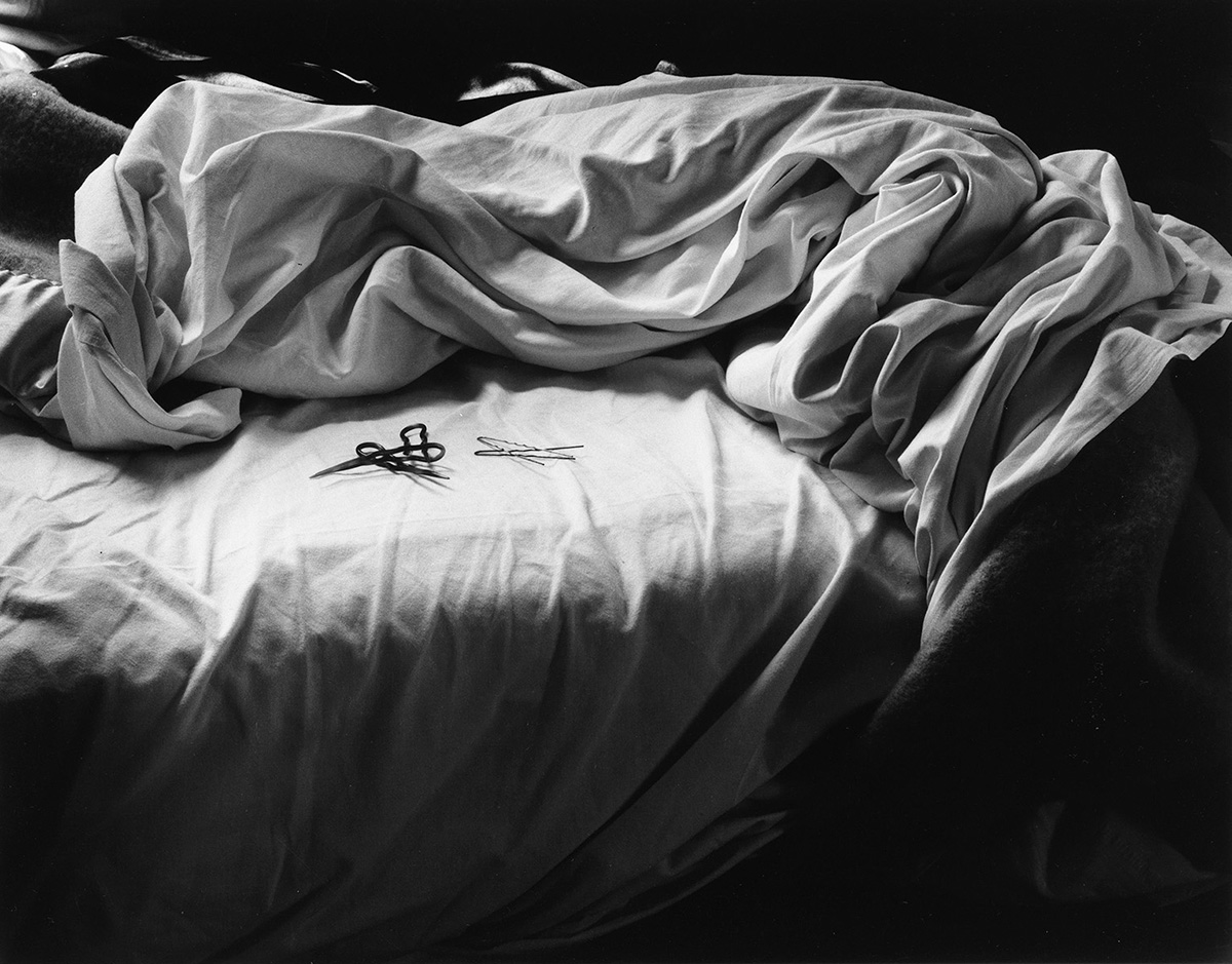 IMOGEN-CUNNINGHAM-(1883-1976)-The-Unmade-Bed