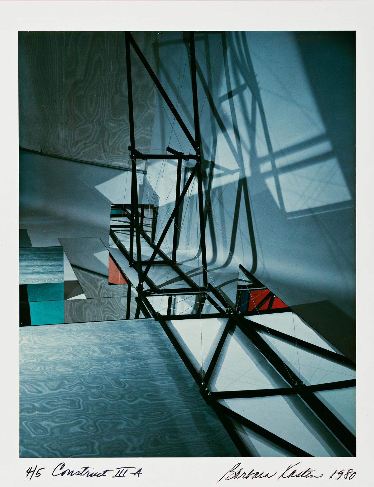 BARBARA KASTEN (1936- ) Construct III-A.