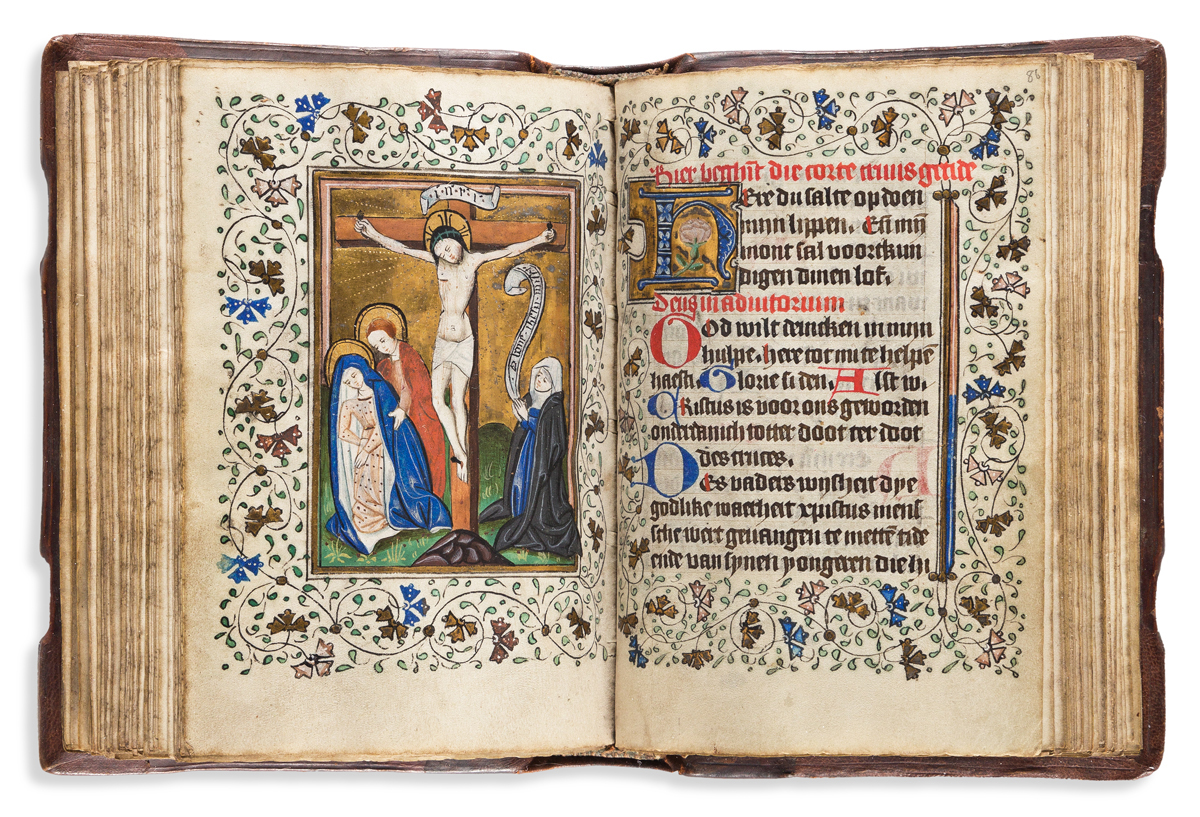 Book of Hours, Use of Utrecht, circa 1435-1445.
