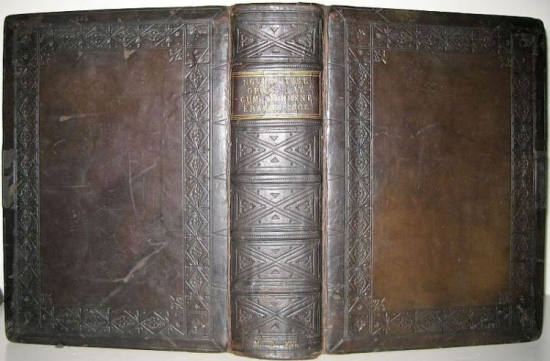 BIBLES, etc.  1516  BIBLE IN GREEK AND LATIN.  Novum instrumentu[m] omne [with the Annotationes].  First edition of the NT in Greek.