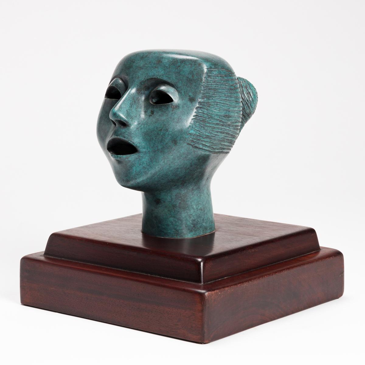 ELIZABETH CATLETT (1915 - 2012) Singing Head (Cabeza Cantando).