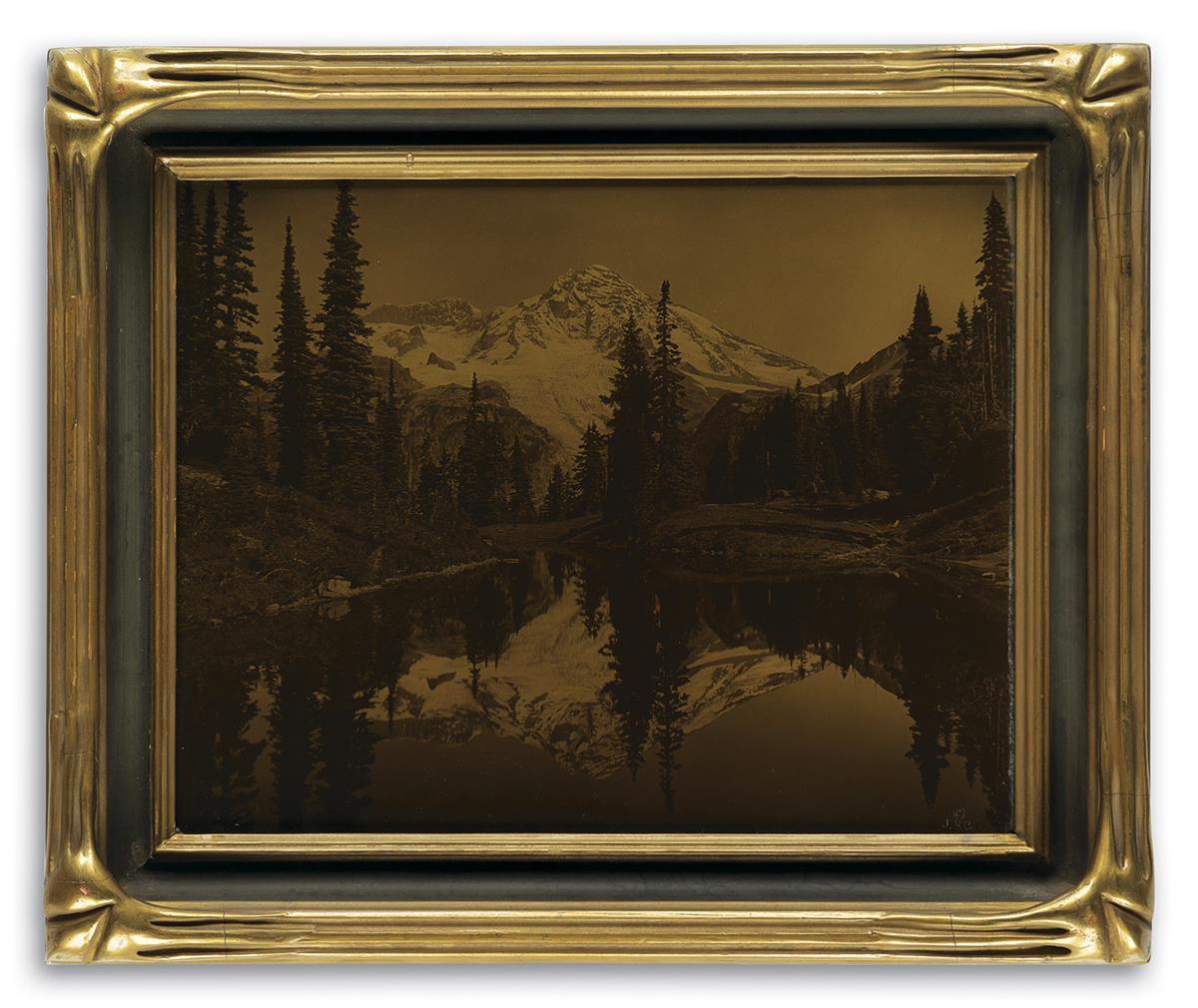 JAMES-BERT-BARTON-(1881-1967)-Mirror-Lake