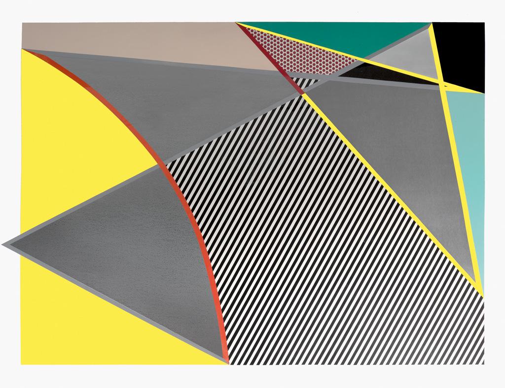 ROY LICHTENSTEIN Imperfect 67x91½.