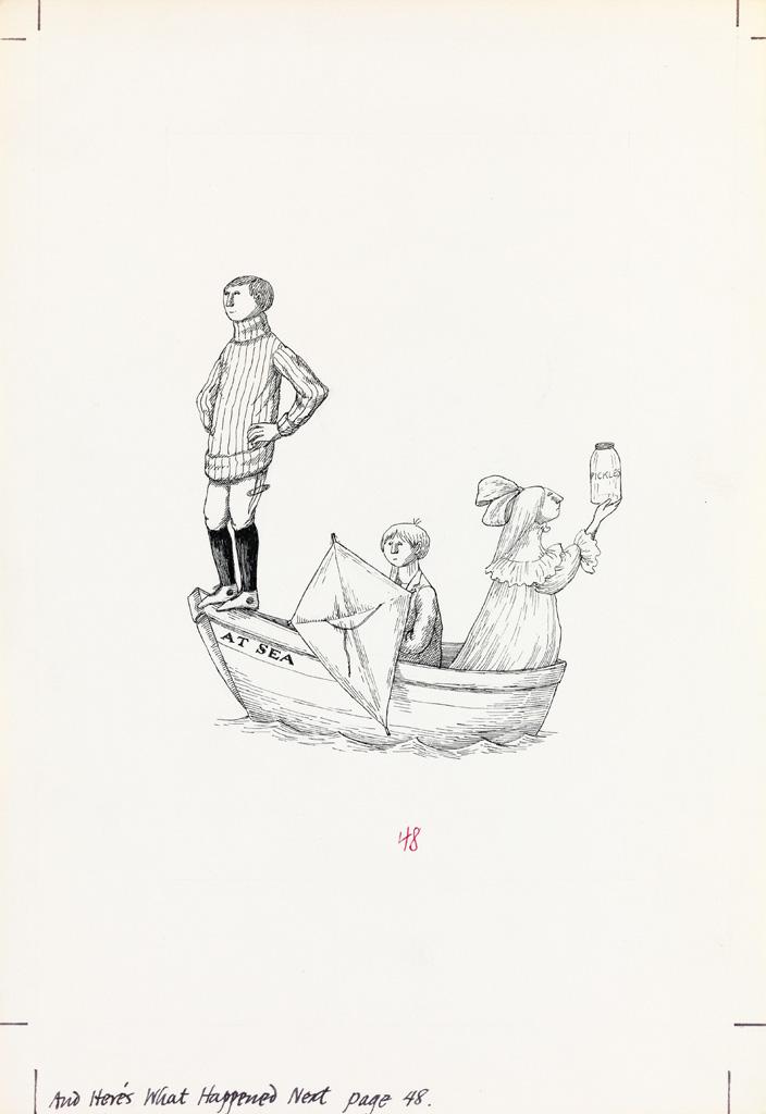 EDWARD GOREY. Miss Myra, Small Benn, and John L. - Those Three.