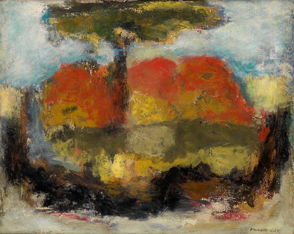 FELRATH HINES (1913 - 1993) Spring.