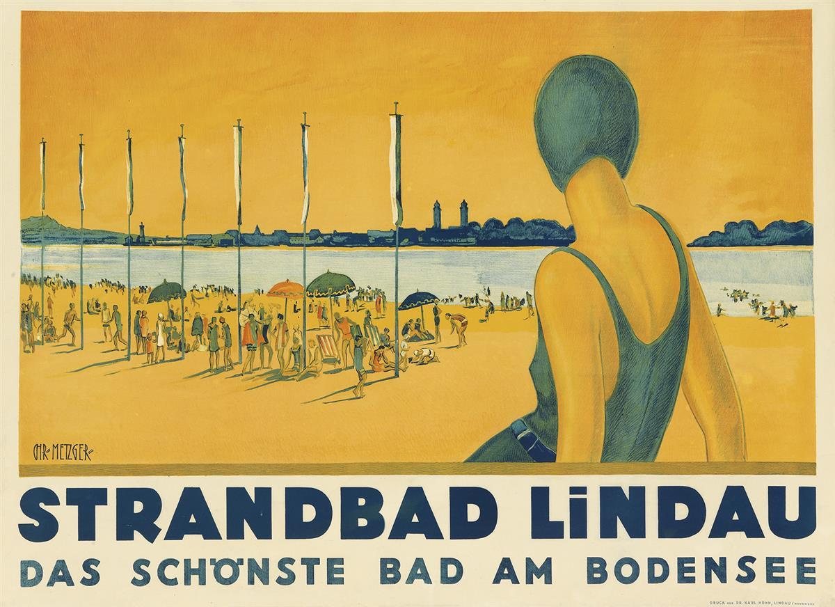 CHARLES-METZGER-(DATES-UNKNOWN)-STRANDBAD-LINDAU-Circa-1930-