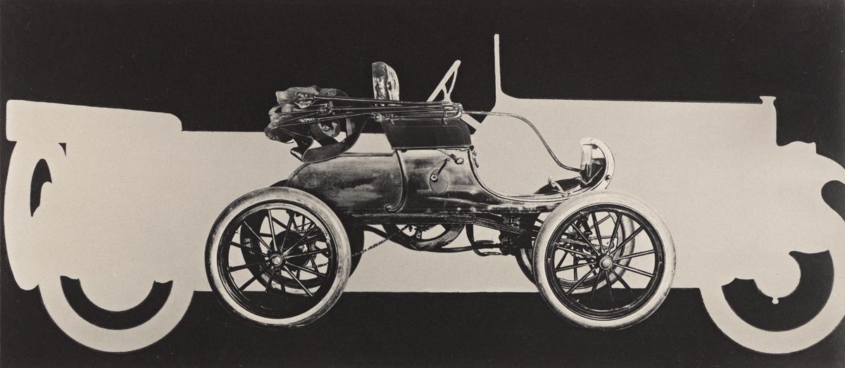 PAUL OUTERBRIDGE JR. (1896-1958) Advertisement for Marmion Motor Co., New York (montage).