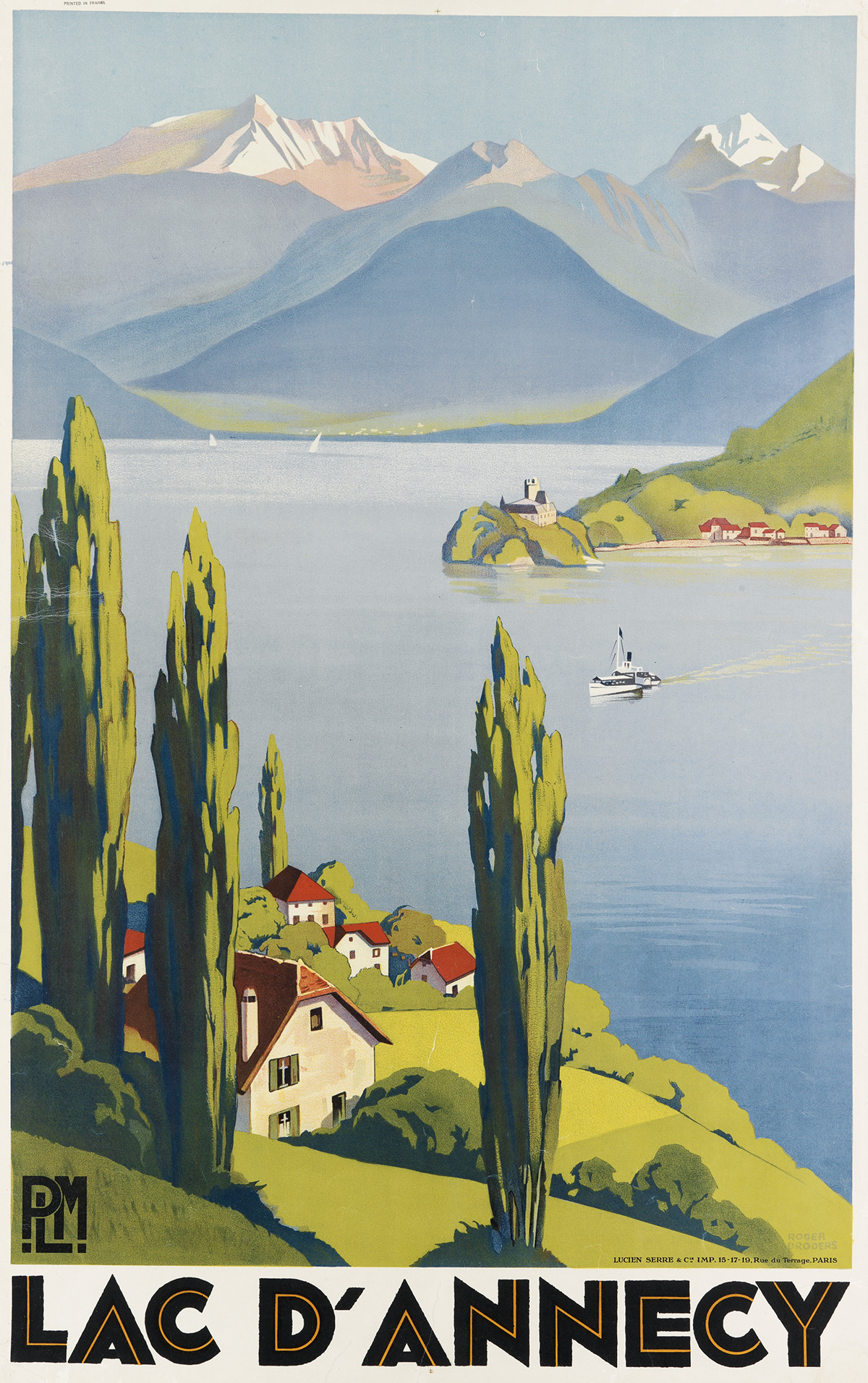 ROGER-BRODERS-(1883-1953)-LAC-DANNECY-1930-39x24-inches-99x6