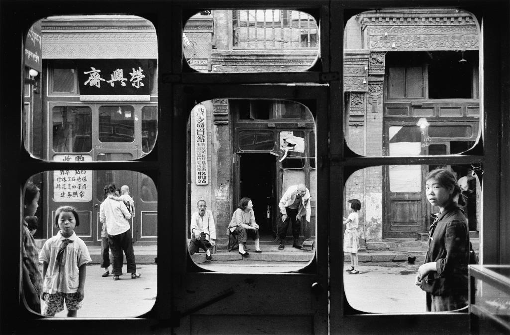 MARC RIBOUD (1923-2016) Beijing, Da Sha La Street.