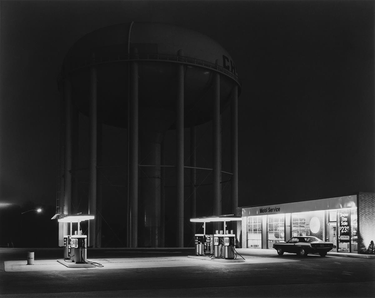 GEORGE A. TICE (1938- ) Petits Mobil Station, Cherry Hill, N.J.