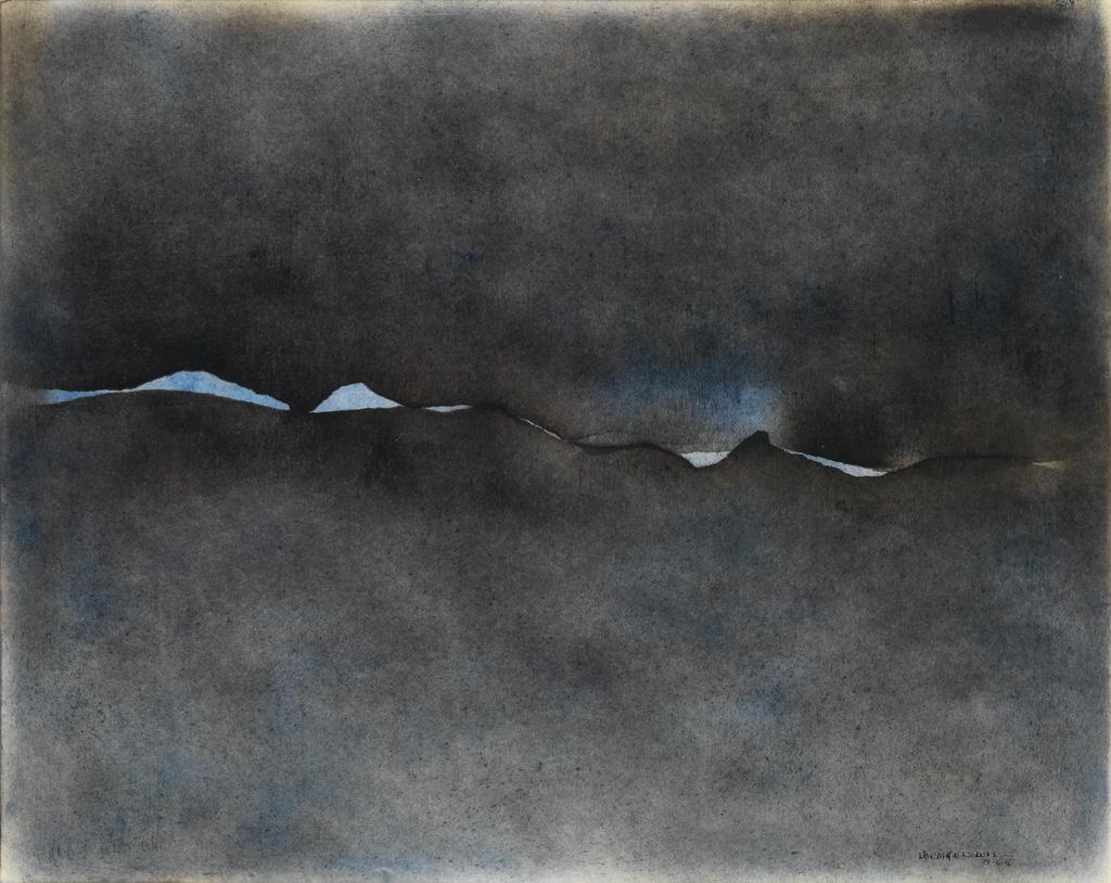 NORMAN LEWIS (1909 - 1979) Untitled (Cloud Break).