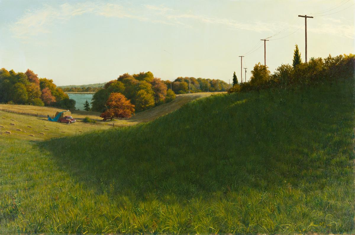 JOSEPH MCGURL Farmland near Westport River.