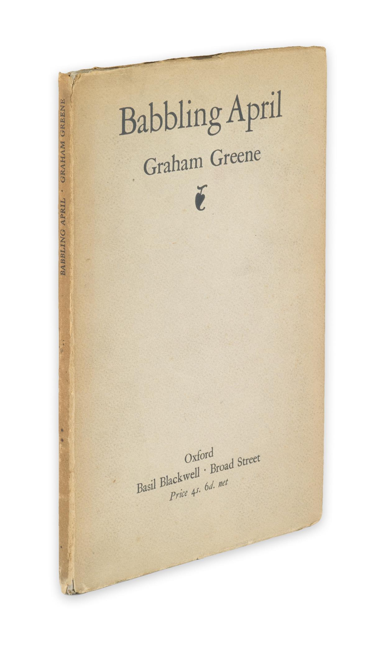 GREENE, GRAHAM. Babbling April.