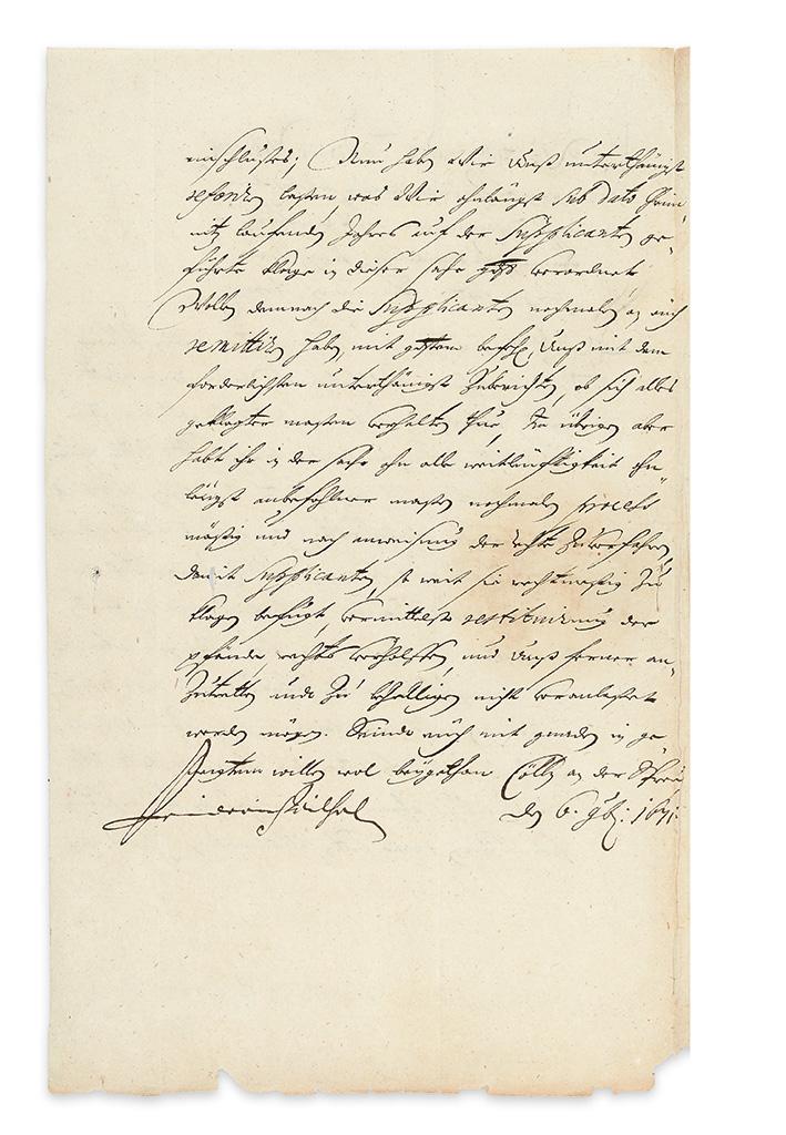 FRIEDRICH-WILHELM;-KURFÜRST-VON-BRANDENBURG-Letter-Signed-to