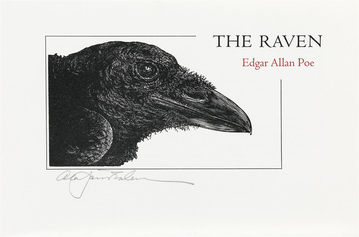 (CHELONIIDAE-PRESS)-Poe-Edgar-Allan-The-Raven