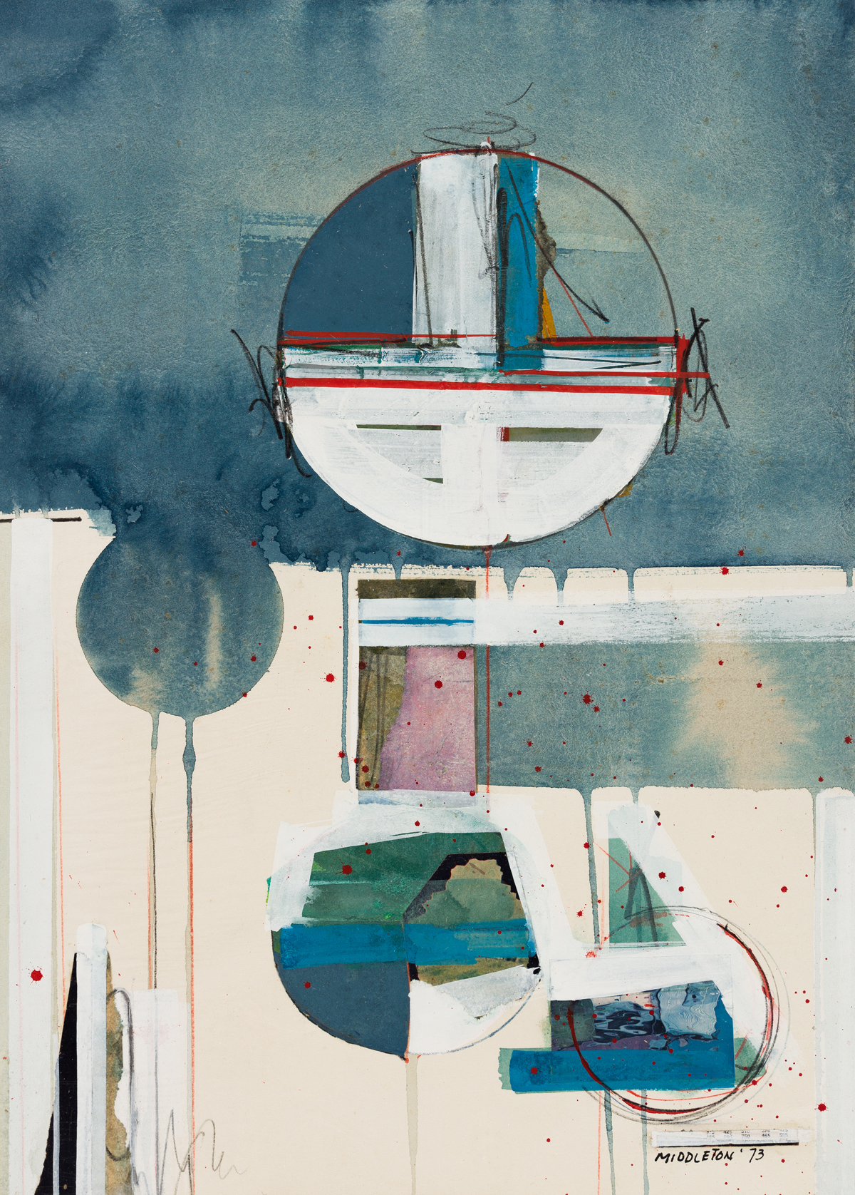 SAM MIDDLETON (1927 - 2015, AMERICAN) Untitled.