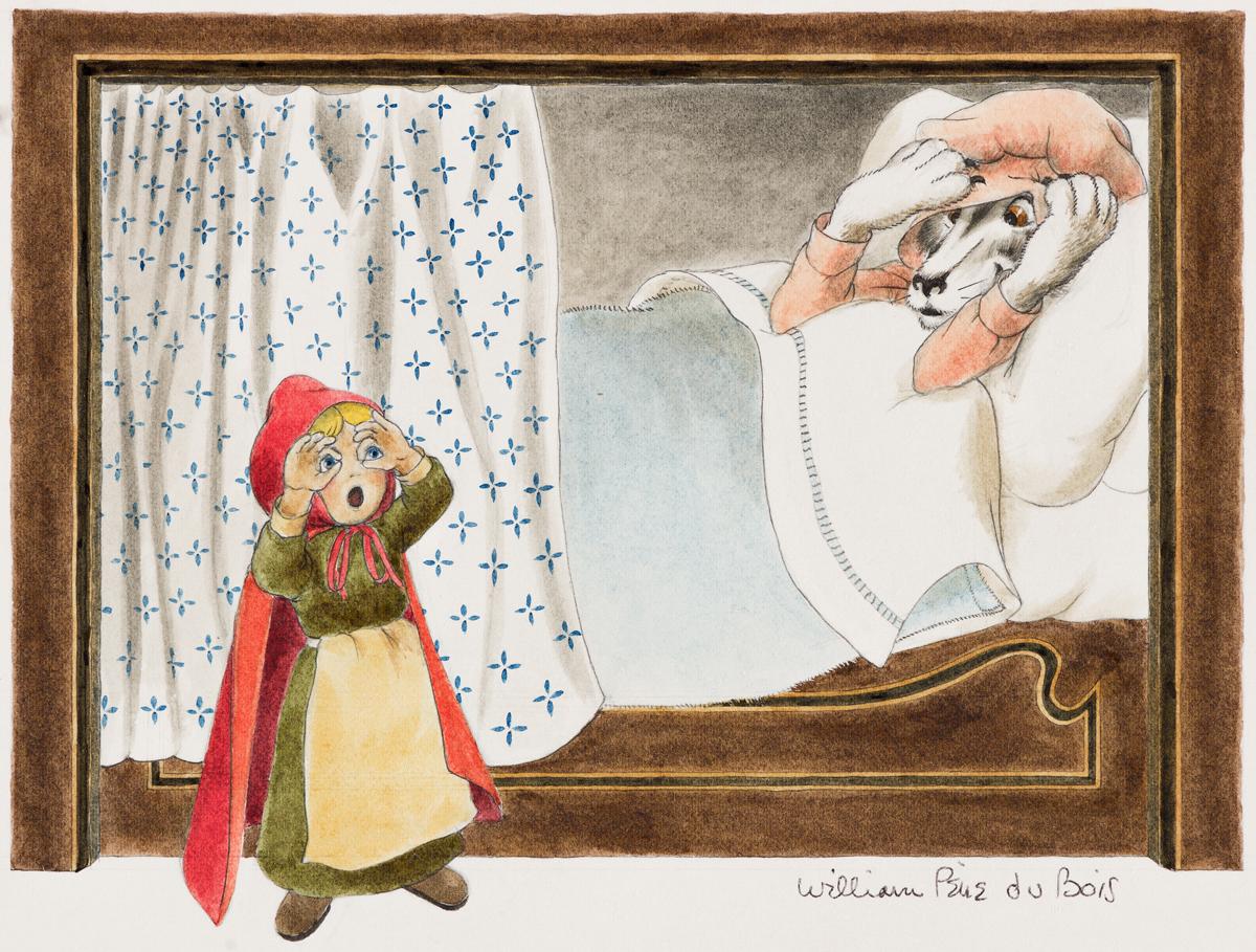 WILLIAM PÈNE DU BOIS (1916-1993) Big Eyes... * Big Hands... * Big Teeth.... [CHILDRENS / FAIRY TALE / RED RIDING HOOD]