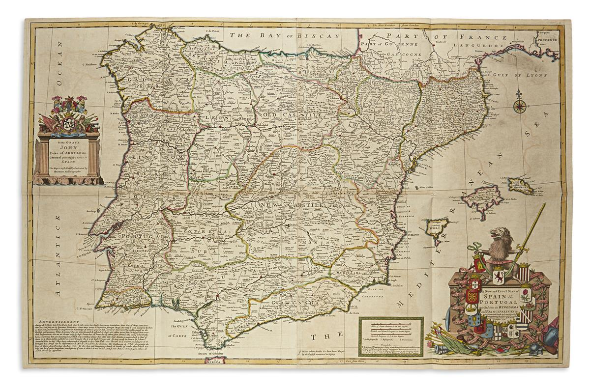 MOLL-HERMAN-A-New-and-Exact-Map-of-Spain-and-Portugal