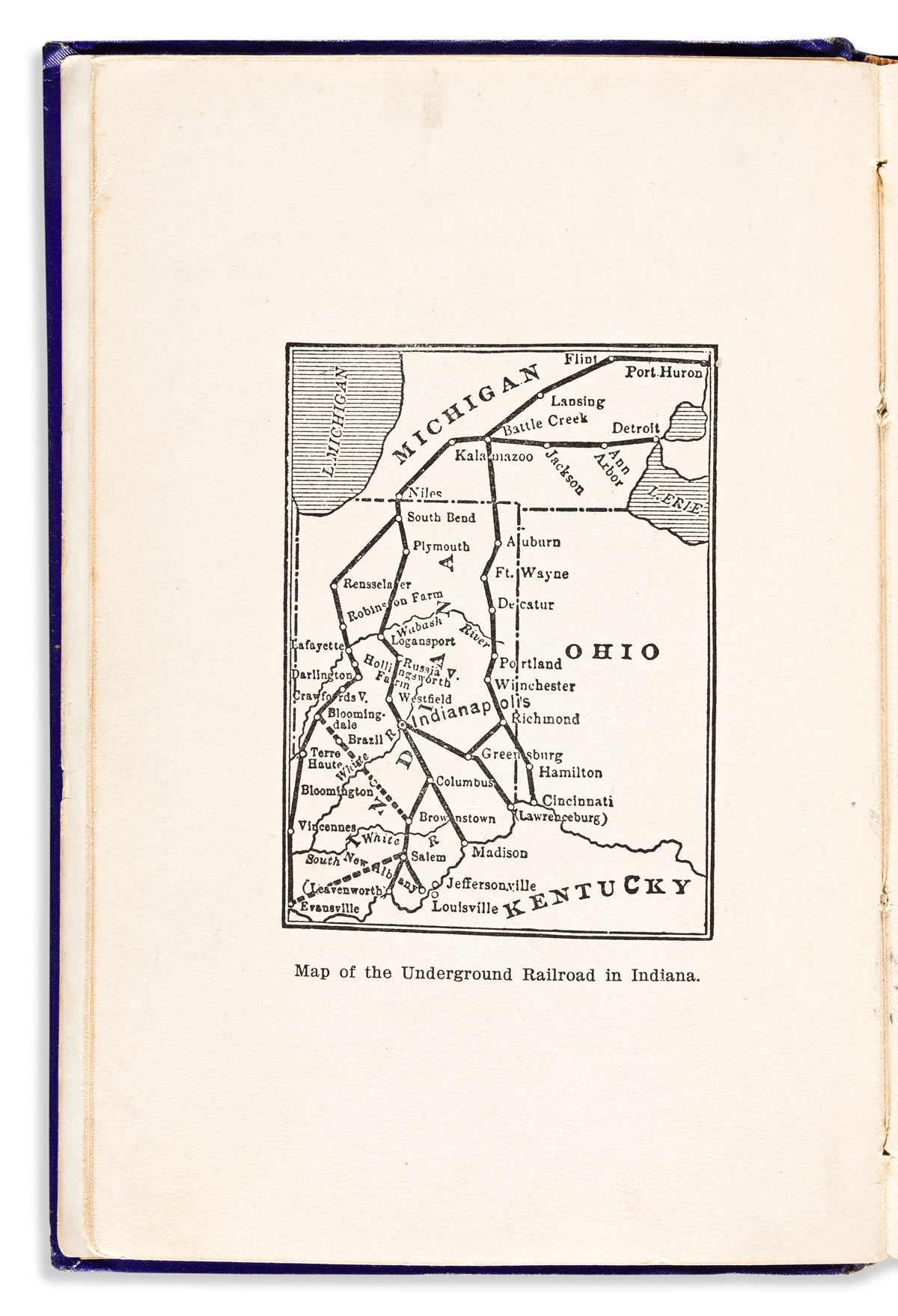(SLAVERY AND ABOLITION.) William M. Cockrum. History of the Underground Railroad as It was Conducted by the Anti-Slavery League,
