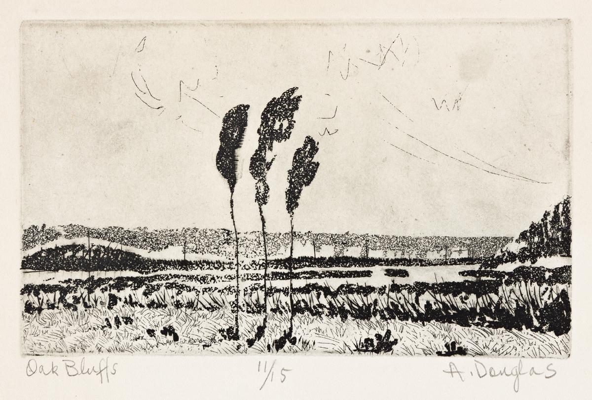 AARON DOUGLAS (1899 - 1979) Oak Bluffs (Vineyard Haven).